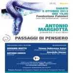 Passaggi di Pensiero, Antonio Margiotta
