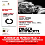 Presentazione del libro: Sempre daccapo, di Fausto Bertinotti