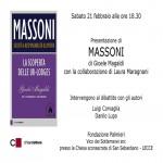 """Gioele Magaldi presenta il libro """"Massoni"""" a Lecce"""